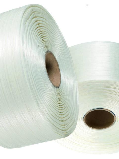Kunststoffumreifung aus Polyesterband